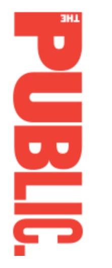 Public Theater logo