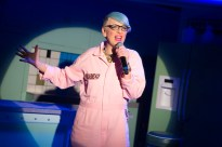Lisa Lampanelli in STUFFED - photo by Jeremy Daniel