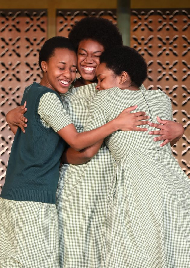 Mirirai Sithole, Abena Mensah-Bonsu and PaigeGilbert