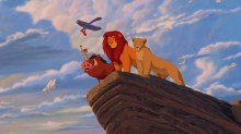 cartoon lion king