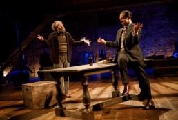 Andy Grotelueschen as Sir Toby Belch, Palo Tolson as Sir Andrew Aguecheek