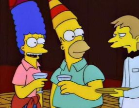 Simpsons New Years Eve