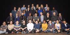 IDs from left to right. ROW 1 Katie Kreisler, Joey LaBrasca, Richard Gallagher, Angela Reed, Kathryn Meisle, Benjamin Wheelwright ROW 2 Dave Register, Andrew Long, Malika Samuel, Stuart Ward, Brian Abraham, Adeola Role, Stephen Bradbury, Shirine Babb, David Abeles, David St. Louis ROW 3 Byron Jennings, Jessie Fisher, Alex Price, Noma Dumezweni, Jamie Parker, Paul Thornley, Poppy Miller, Edward James Hyland, Geraldine Hughes ROW 4 James Romney, Madeline Weinstein, Alex Weisman, Lauren Nicole Cipoletti, Anthony Boyle, Sam Clemmett, Susan Heyward, Jess Barbagallo, Alanna Saunders, Joshua De Jesus