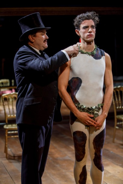Douglas Hodge and James Cusati-Moyer as Diaghilev and Nijinsky in Fire and Ice