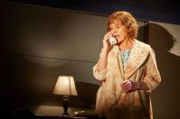 Susan Brown as Hannah Pitt, the Mormon mother of Joe Pitt, the Republican lawyer who calls her up with a confession.