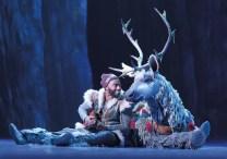 Frozen 6 Jelani Alladin (Kristoff) and Andrew Pirozzi (Sven) in FROZEN on Broadway. Photo by Deen van Meer