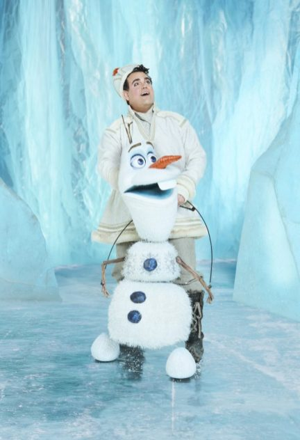Frozen: Greg Hildreth as Olaf