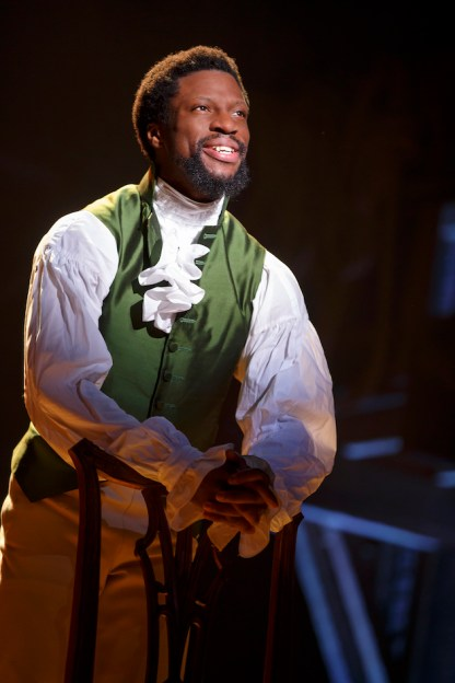 Michael Luwoye as Hamilton