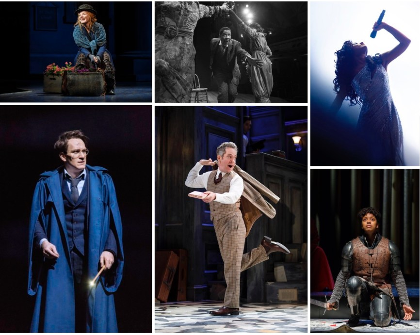 Broadway shows April 30 collage