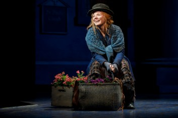 Lauren Ambrose as Eliza in fourth Broadway revival, which opened in April, 2018