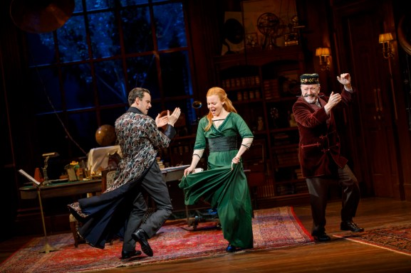 My Fair Lady The Rain in Spain - Harry Hadden-Paton, Lauren Ambrose, and Allan Corduner