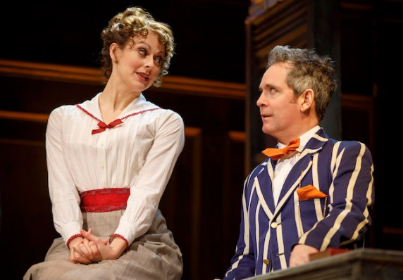 Sara Topham and Tom Hollander