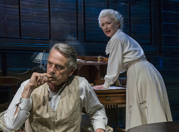 Jeremy Irons and Lesley Manville