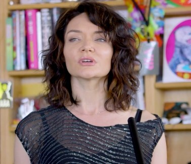 Katrina Lenk at Tiny Concert