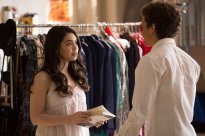 "RISE -- ""Opening Night"" Episode 110 -- Pictured: (l-r) Auli'i Cravalho as Lilette Suarez, Damon J. Gillespie as Robbie Thorne -- (Photo by: Eric Liebowitz/NBC)"