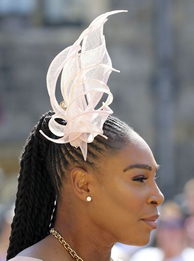 Serena Williams in hat