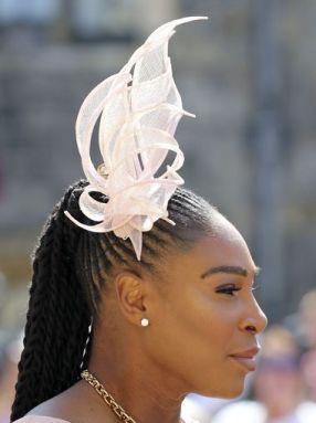 Serena Williams in hat