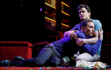 Jim Parsons and Matt Boman in Boys in the Band on Broadway