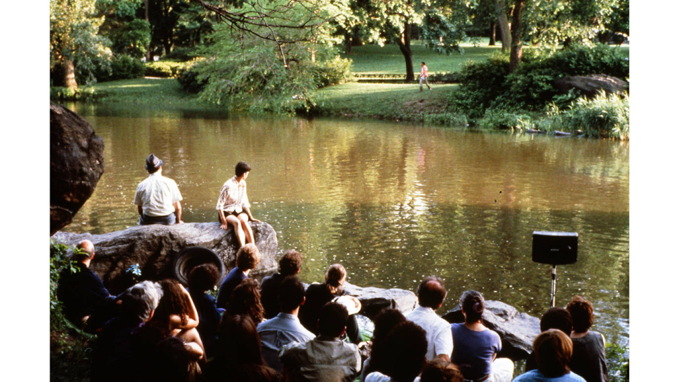 Bad Penny, 1989, by Mac Wellman. In and around the lake in Central Park