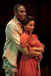 Clifton Duncan and Anika Noni Rose