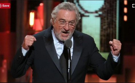 Robert De Niro at the Tonys