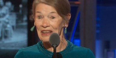 "2. ""I'm one of the oldest ever to have stood on this platform receiving this award, but what a thrill to be in the same house as those amazing children...""-- Glenda Jackson, in her acceptance speech"