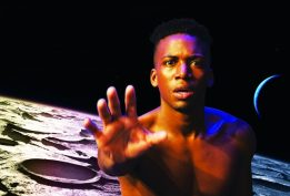 Neptune, written and performed by Timothy DuWhite, is one of the offerings of the 27th annual Hot Festival, celebrating queer culture