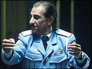 Sasson Gabai, star of both the film and now the musical of The Band's Visit
