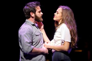 Colin Donnell and Solea Pfeiffer