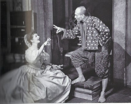 The King and I 1951. Gertrude Lawrence and Yul Brynner.