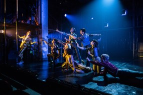 – Peter LaPrade and the cast of This Ain't No Disco