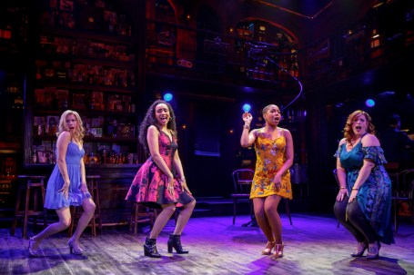 Smokey Joe's Cafe: Emma Degerstedt, Nicole Vanessa Ortiz, Dionne D. Figgins and Alysha Umphress Photo credit: Joan Marcus