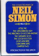 Collected plays neil simon volumn 2
