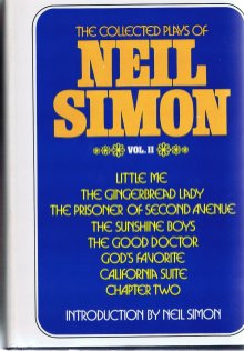 Collected plays neil simon volumn 2
