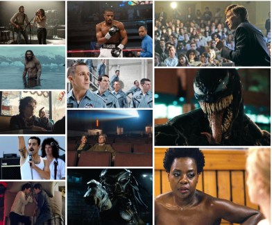 Fall Movie preview collage