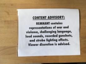 Mitu content advisory