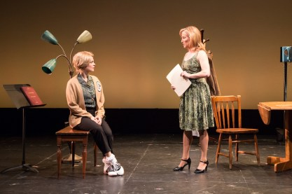 Christina Maxwell as Laura and Erin Leigh Peck as her mother Margaret