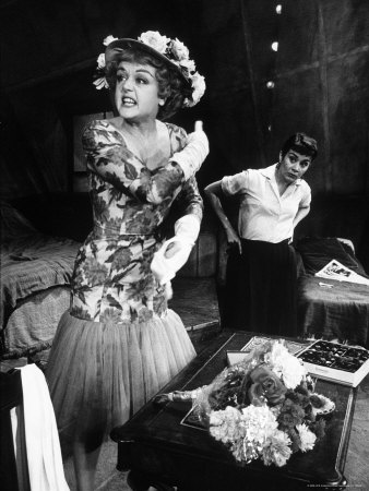 A Taste of Honey, 1961 Broadway, with Angela Lansbury and Joan Plowright.
