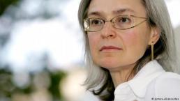 Journalist Anna Politkovskaya, murdered at age 48