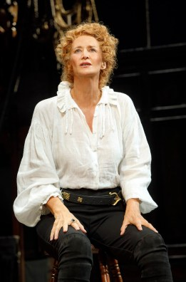 Janet McTeer as Sarah Bernhardt as Hamlet