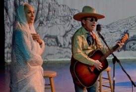 Cowboy and Rose Dawn