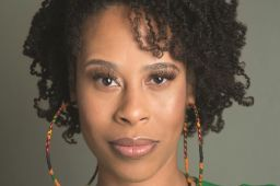 "Playwright Dominique Morisseau made her Broadway debut as the writer of the book for ""Ain't Too Proud"""