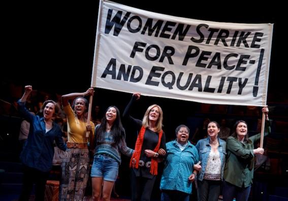 Joanna Glushak, Fedna Jacquet, Francesca Fernandez McKenzie, Christine Lahti, Patrena Murray, DeLanna Studi and Liz Wisan