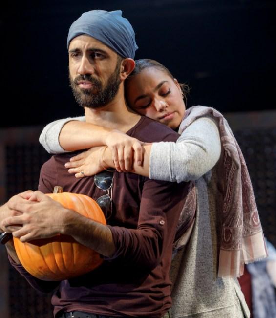 """Sathya Sridharan as Iggy Batra and Shazi Raja as Basminder """"Boz"""" Batra in India Pale Ale"""