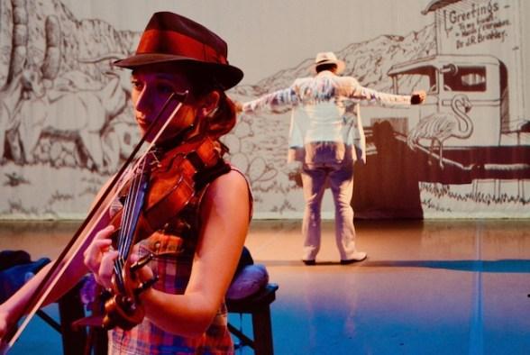 Julia Violin Brinkley Christ