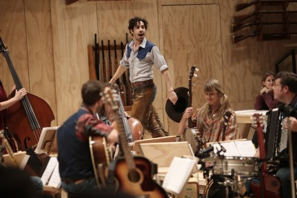 Damon Daunno and band, Oklahoma!, St. Ann's warehouse, 2018