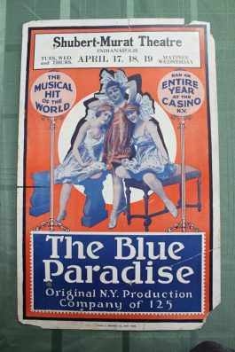 Blue Paradise playbill