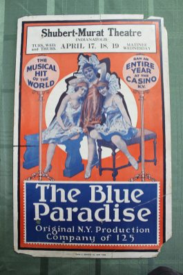 Blue Paradise playbill