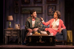 Michael Urie and Mercedes Ruehl
