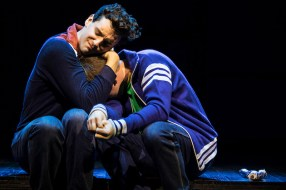 Michael Urie and Jack DiFalco